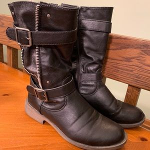 Shoes - Black Combat Boot